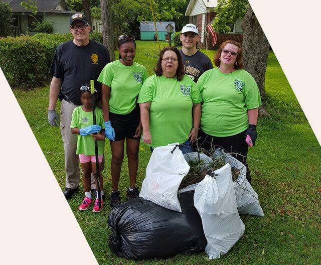 City of Lucedale Great American Cleanup